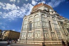 Florence, cathédrale de St Mary des fleurs Photographie stock libre de droits