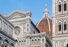 Florence Cathedra and Campanilel, Florence Royalty Free Stock Photography
