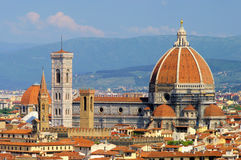 Florence cathedral. Florence in Italy, the cathedral Stock Photo