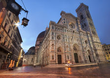 Florence Cathedral. By night, Italy Royalty Free Stock Photography
