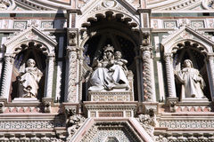 Florence cathedral. Art. Architecture in Italy. UNESCO World Heritage Site Royalty Free Stock Images