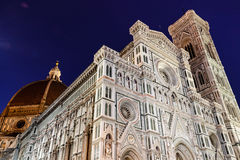 Florence Cathedral. (Duomo - Basilica di Santa Maria del Fiore) in the Morning, Tuscany, Italy Stock Photo