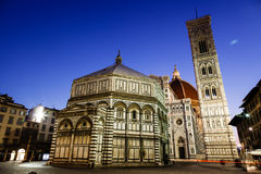 Florence Cathedral. (Duomo - Basilica di Santa Maria del Fiore) in the Morning, Tuscany, Italy Stock Photography