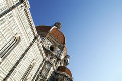 Florence Cathedral. Structure of the Florence Cathedral Stock Images