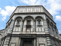 Florence cathedral - baptistery Stock Photo