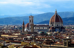 Florence Cathedral Basilica di Santa Maria del Fiore Image libre de droits