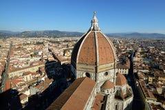 Florence Cathedral Basilica di Santa Maria Del Fiore, Campanile di Giotto, Cupola del Brunelleschi Fotografía de archivo