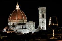Florence Cathedral Basilica di Santa Maria Del Fiore, Campanile di Giotto, Cupola del Brunelleschi VII Imágenes de archivo libres de regalías