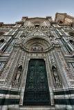 Florence Cathedral Basilica di Santa Maria Del Fiore, Campanile di Giotto, Cupola del Brunelleschi VIII Foto de archivo libre de regalías