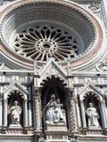 Florence Cathedral Basilica di Santa Maria-del Fiore Piazza Duomo Stockbilder