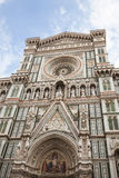 Florence Cathedral Basilica di Santa Maria del Fiore Piazza Duomo Royaltyfri Foto