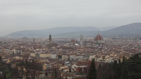 Florence Cathedral Cityscape archivi video