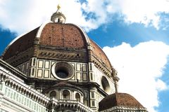 Santa Maria del Fiore Cathedral royalty free stock images