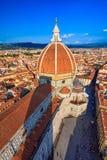 Florence Cathedral de St Mary de la fleur, Florence Duomo Duomo di Firenze et et campanile de Giotto s de Florence Cathe Images stock