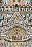 Florence Cathedral Detail Royalty Free Stock Photos
