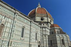 Florence Cathedral. The detail of Florence Cathedral, Italy Royalty Free Stock Images