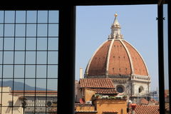 Florence Cathedral/die Cattedrale-Di Santa Maria del Fiore Lizenzfreies Stockfoto
