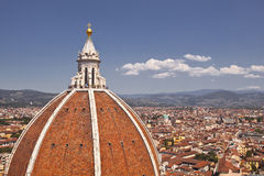 Florence cathedral dome Stock Image