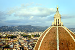 Florence Cathedral Dome Imagens de Stock
