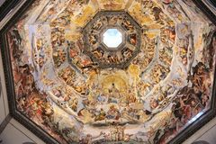 Florence Cathedral dome Stock Photos