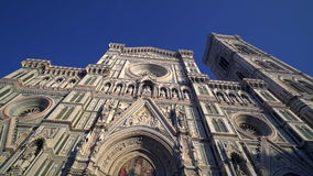 Florence Cathedral Dome Tuscany Italy HD. Duomo Cattedrale di Santa Maria del Fiore Firenze Toscana Italia - Cathedral of Saint Mary of the Flower Florence stock video