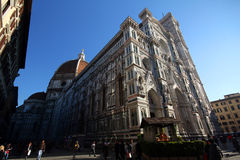 Florence Cathedral (domo - di Santa Maria del Fiore da basílica) Fotos de Stock Royalty Free