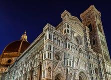 Florence Cathedral (Duomo - Basiliekdi Santa Maria del Fiore) stock afbeeldingen