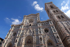Florence Cathedral Duomo Firenze. Cathedral of Saint Mary of the Flower, most important and beatiful church in Florence Royalty Free Stock Images