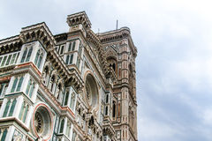 Florence cathedral facade Royalty Free Stock Image