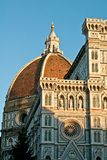 Florence cathedral facade Royalty Free Stock Photo