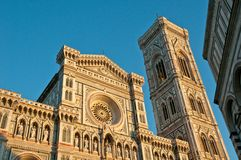 Florence cathedral facade Royalty Free Stock Photos