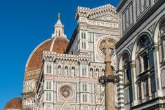 Florence Cathedral in Florence, Italië stock fotografie
