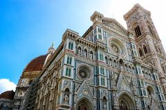 Florence Cathedral. stock photo