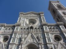 Florence Cathedral Front Stock Image