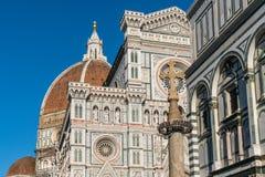 Florence Cathedral i Florence, Italien Arkivbild