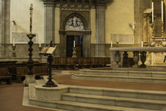 Florence Cathedral indoor Stock Photos