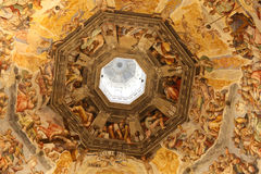 Florence cathedral, interior stock image