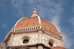 Florence Cathedral Italy, Santa Maria del Fiore, abóbada do ` s de Brunelleschi, símbolo da cidade fotografia de stock