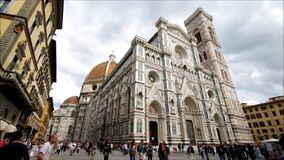 Florence cathedral stock video