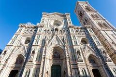 Florence Cathedral-mening, Italiaans oriëntatiepunt royalty-vrije stock foto