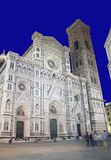 Florence, cathedral at night Stock Photo