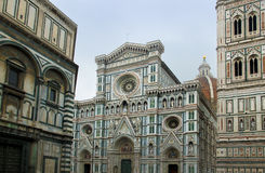 Florence Cathedral in Opera di Santa Maria del Fiore. Florence, Italy Royalty Free Stock Photos
