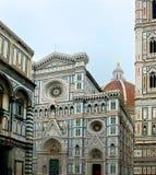 Florence Cathedral in Operadi Santa Maria del Fiore. Florence, Italië stock afbeeldingen