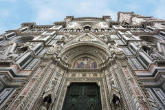 Florence cathedral perspective view Stock Image