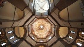 Florence Cathedral, Florence, plafond, lumière du jour, éclairage, tir d'écran Photo stock
