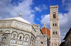 Florence Cathedral. Florence and Cathedral of Santa Maria del Fiore Royalty Free Stock Images