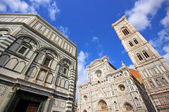 Florence Cathedral. Florence and Cathedral of Santa Maria del Fiore Royalty Free Stock Photo