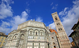 Florence Cathedral. Florence and Cathedral of Santa Maria del Fiore Royalty Free Stock Image