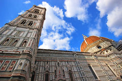 Florence Cathedral. Florence and Cathedral of Santa Maria del Fiore Royalty Free Stock Photos