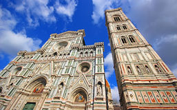 Florence Cathedral. Florence and Cathedral of Santa Maria del Fiore Royalty Free Stock Photography